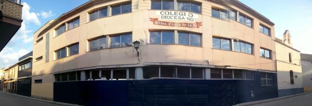 Vista del Colegio desde la calle Silla